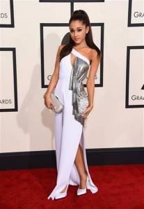 Ariana Grande in Versace.